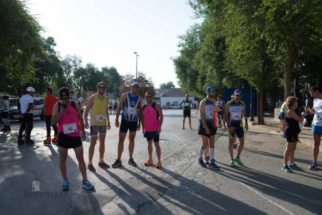 Fotografías de previos, salida patines y carrera en Carrera Popular Herencia 5