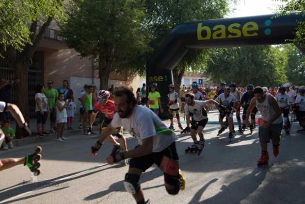 Fotografías de previos, salida patines y carrera en Carrera Popular Herencia 42