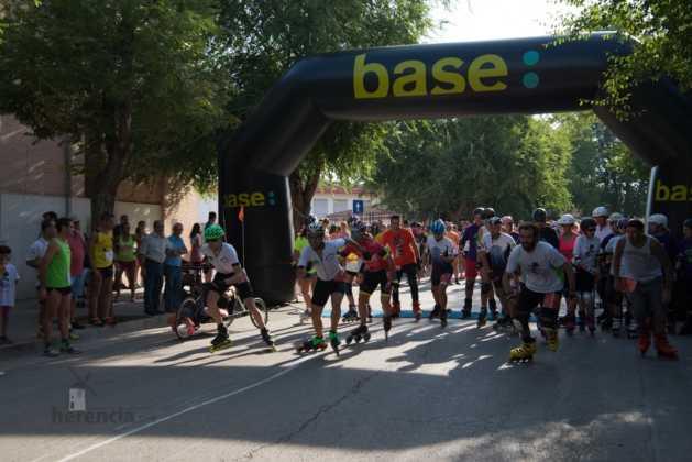 Fotografías de previos, salida patines y carrera en Carrera Popular Herencia 36