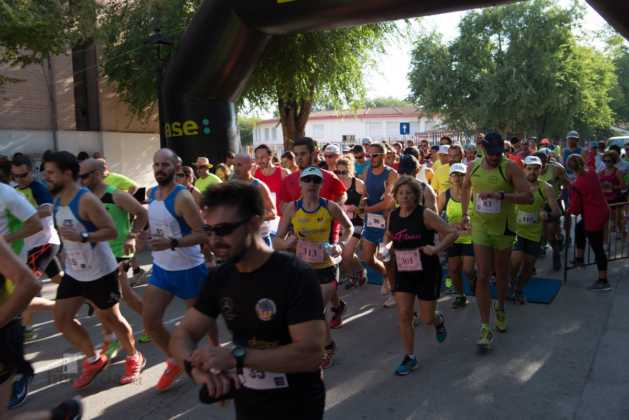 Fotografías de previos, salida patines y carrera en Carrera Popular Herencia 75
