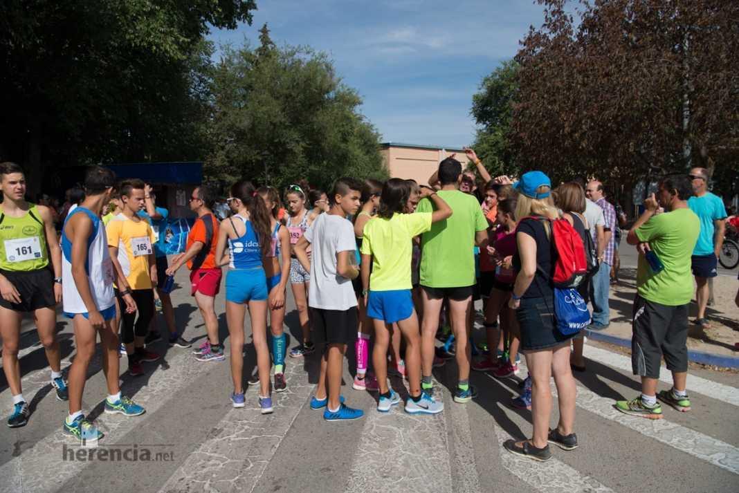 Fotografías de la 40 Carrera Popular Herencia, jóvenes y entregas premios 185