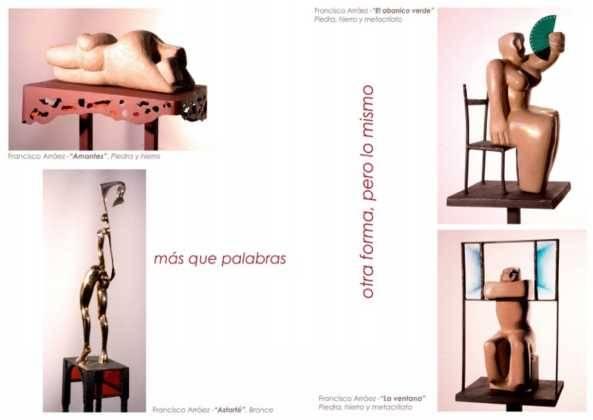 01Exposicion La vision narrativa de Francisco Arraez y Valentin Romero 593x420 - Exposición de escultura y pintura de Francisco Arráez y Valentín Romero