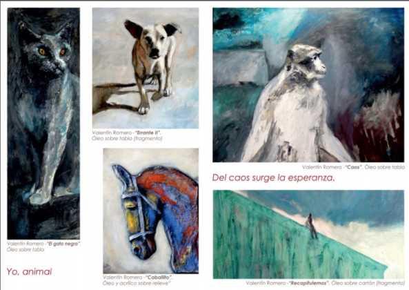 02Exposicion La vision narrativa de Francisco Arraez y Valentin Romero 593x420 - Exposición de escultura y pintura de Francisco Arráez y Valentín Romero