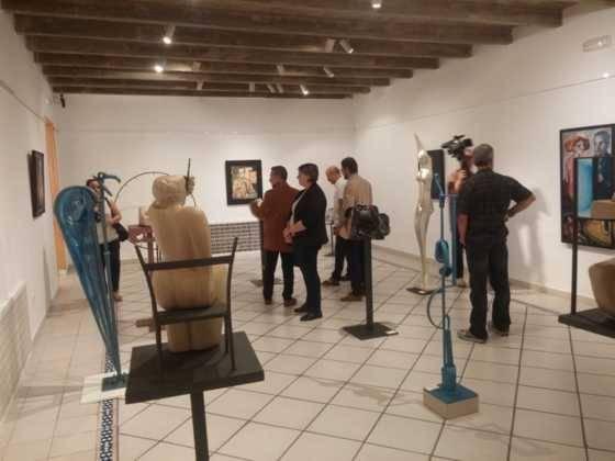 03Exposicion La vision narrativa de Francisco Arraez y Valentin Romero 560x420 - Exposición de escultura y pintura de Francisco Arráez y Valentín Romero