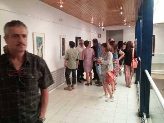 Exposición de escultura y pintura de Francisco Arráez y Valentín Romero 14
