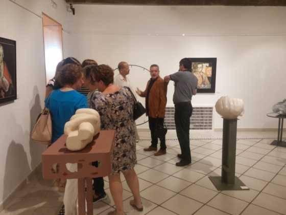 16Exposicion La vision narrativa de Francisco Arraez y Valentin Romero 560x420 - Exposición de escultura y pintura de Francisco Arráez y Valentín Romero