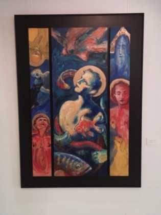 24Exposicion La vision narrativa de Francisco Arraez y Valentin Romero 315x420 - Exposición de escultura y pintura de Francisco Arráez y Valentín Romero