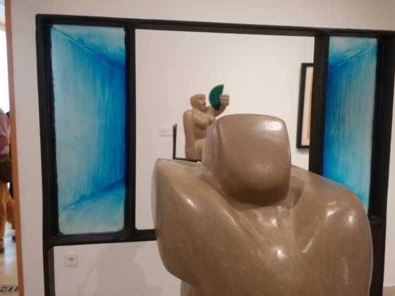 31Exposicion La vision narrativa de Francisco Arraez y Valentin Romero 560x420 - Exposición de escultura y pintura de Francisco Arráez y Valentín Romero