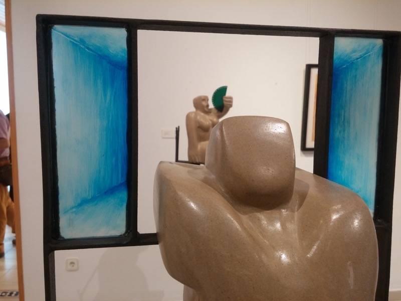 Exposición de escultura y pintura de Francisco Arráez y Valentín Romero 23