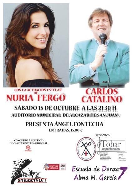 Concierto solidario de Nuria Fergó