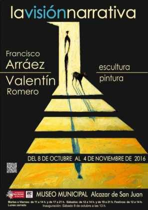 Exposición de escultura y pintura de Francisco Arráez y Valentín Romero 1