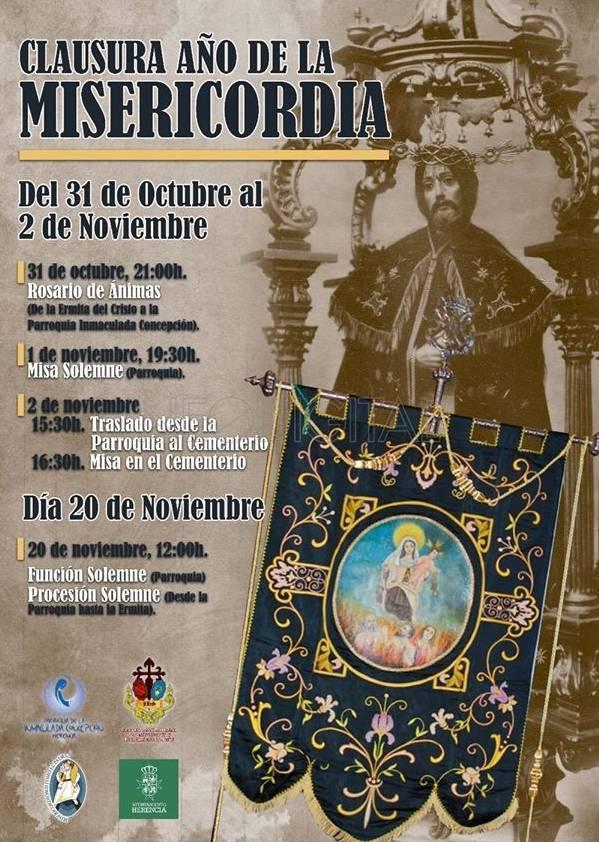 Clausura del Año de la Misericordia en Herencia