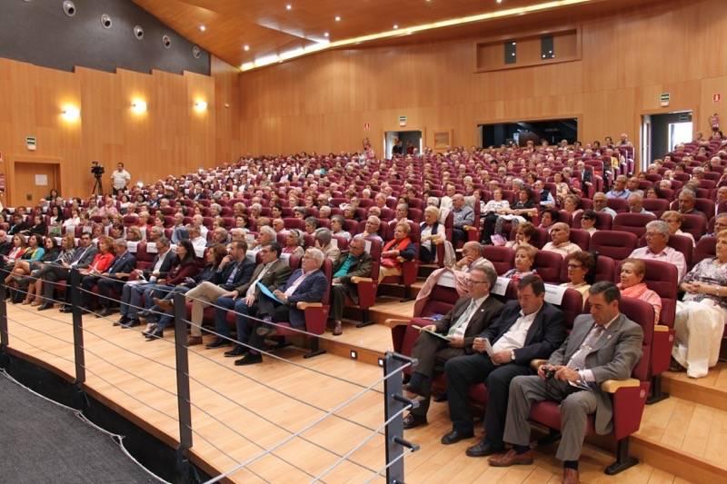 Consejera de Bienestar Social en Herencia01 - Celebrada la Jornada de Envejecimiento Activo de UDP en Herencia