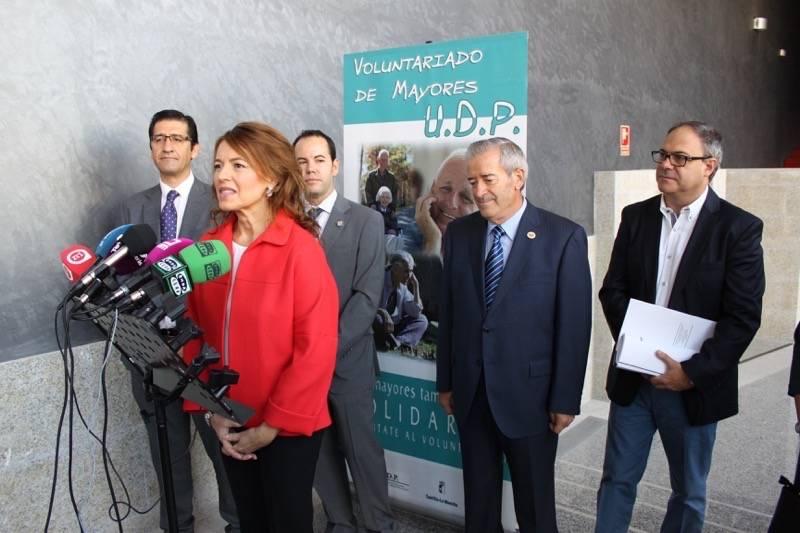 Consejera de Bienestar Social en Herencia02 - Celebrada la Jornada de Envejecimiento Activo de UDP en Herencia