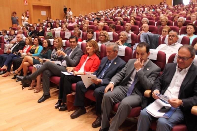 Consejera de Bienestar Social en Herencia04 - Celebrada la Jornada de Envejecimiento Activo de UDP en Herencia
