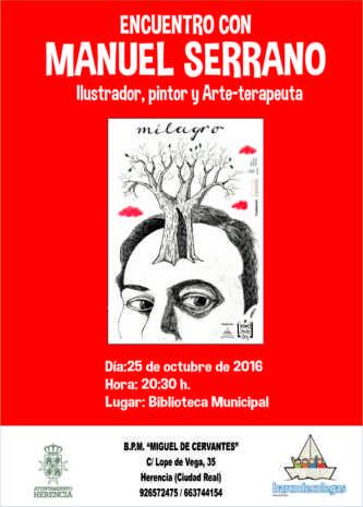 Enc uentro Palabras a la calle. 1 333x465 - Encuentro con Manuel Serrano ilustrador de Palabras a la Calle.