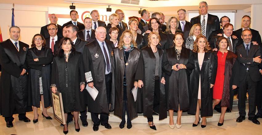 Entrega de insignias de honor a los abogados de Ciudad Real. Fotografía de J Jurado (diaDiario Lanza