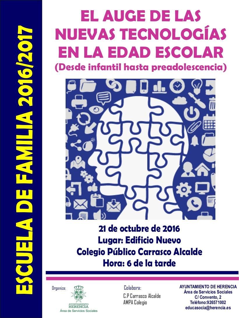 Escuela de padres Herencia - El Ayuntamiento pone en marcha una escuela de familias