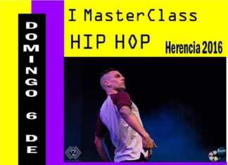 Exhibicion de hip hop en Herencia