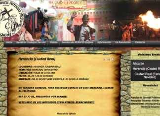 Mercadillo cervantino en Herencia