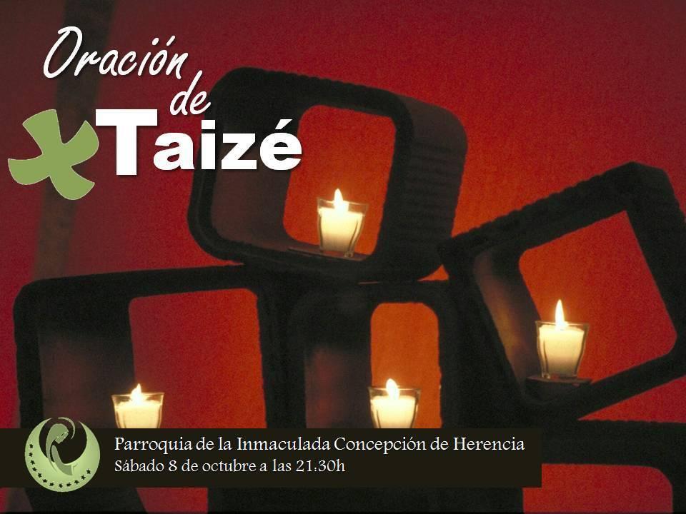 Oracion de Taize en la parroquia de Herencia - La parroquia de Herencia crea un nuevo grupo de oración al estilo de Taizé