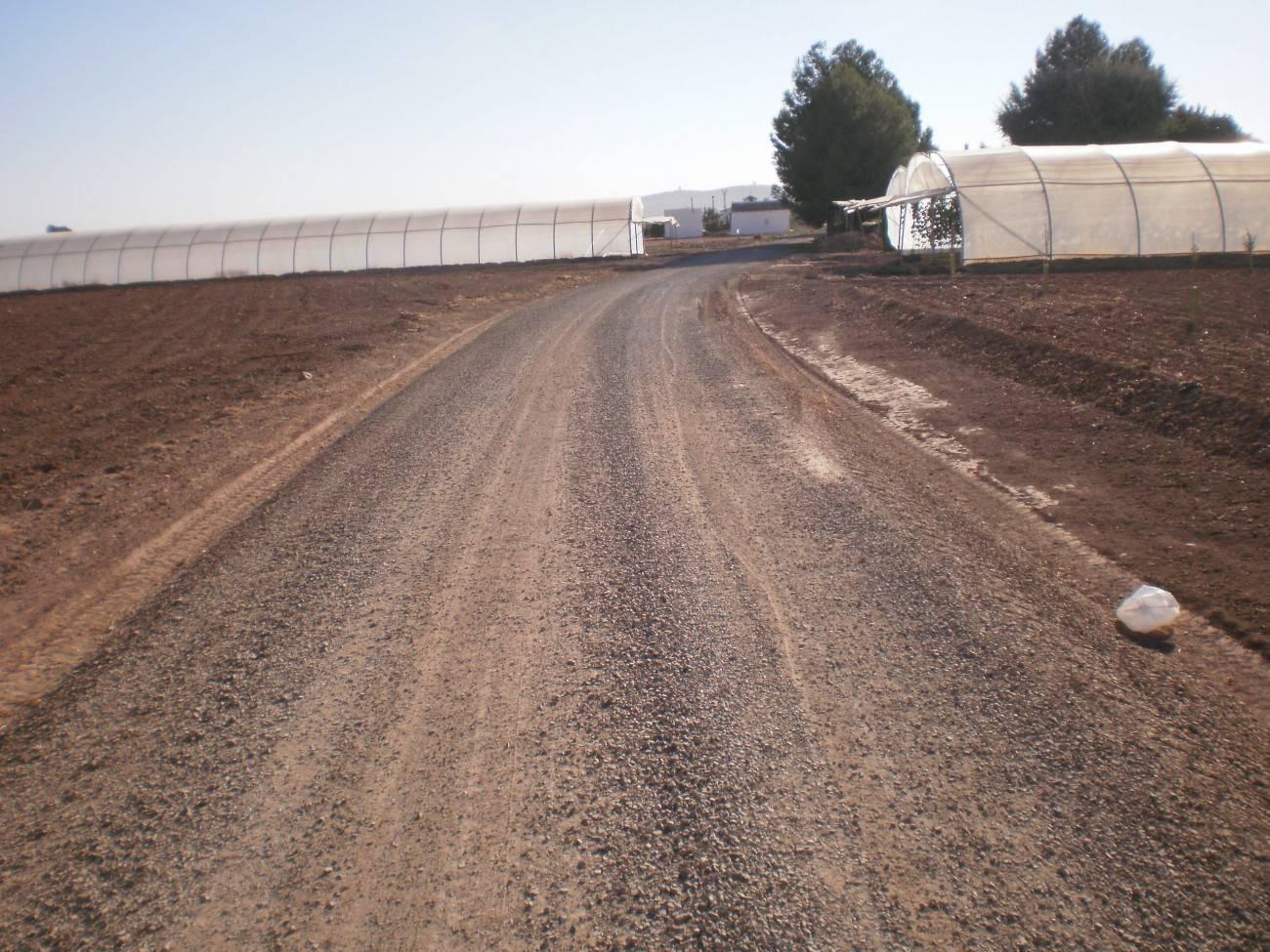 arreglo de caminios en herencia ciudad real - Herencia realiza arreglos en varios caminos rurales del municipio