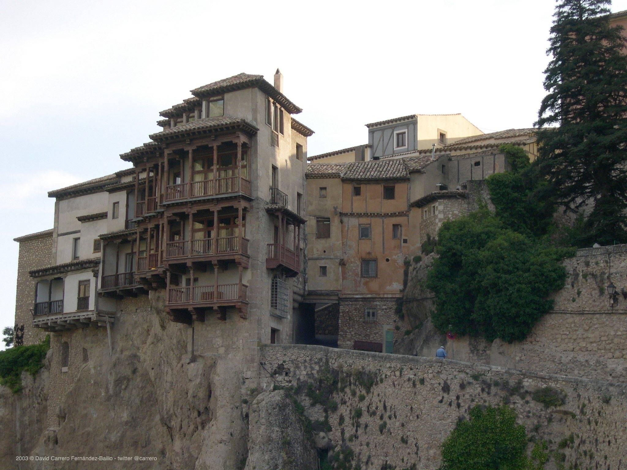 Casas Colgadas en Cuenca. Foto David Carrero Fdez-Baillo