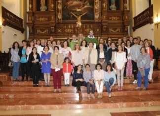 Algunos de los catequistas parroquiales del curso 2016-17 en Herencia