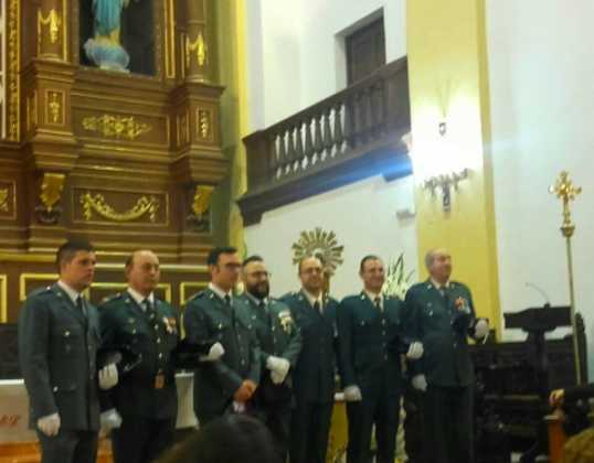 guardia civil de herencia 538x420 - Herencia celebró la festividad de la Guardia Civil