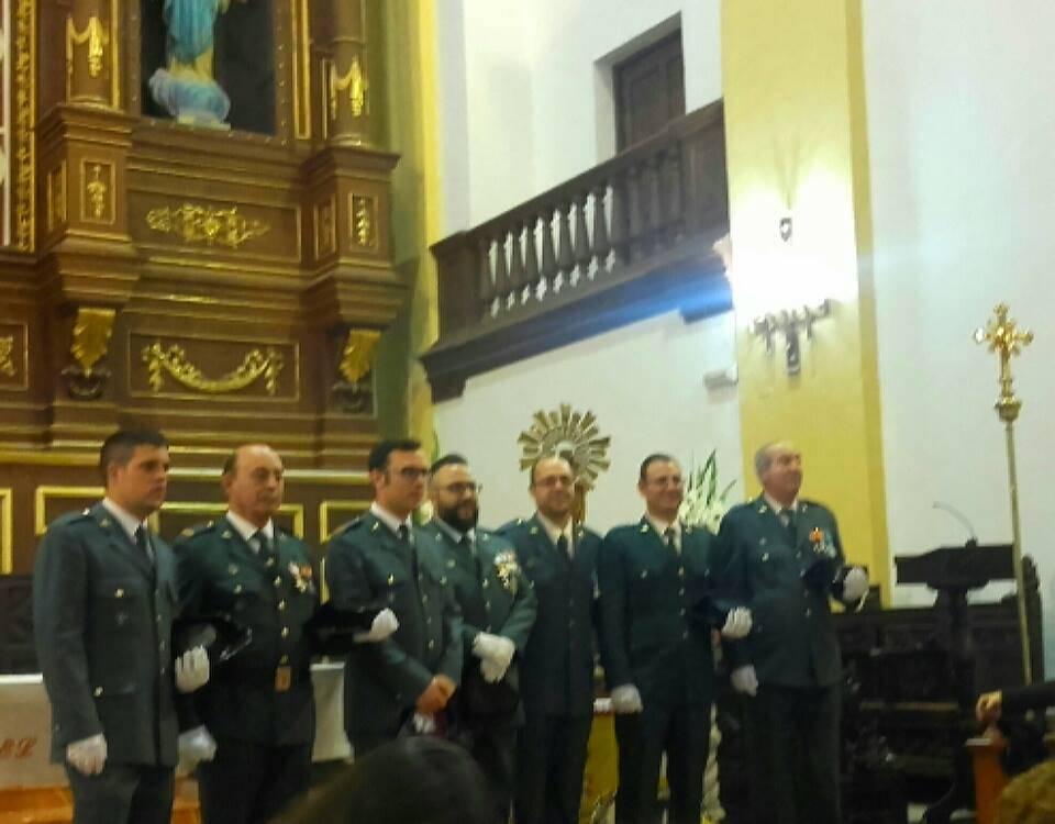 Herencia celebró la festividad de la Guardia Civil 5
