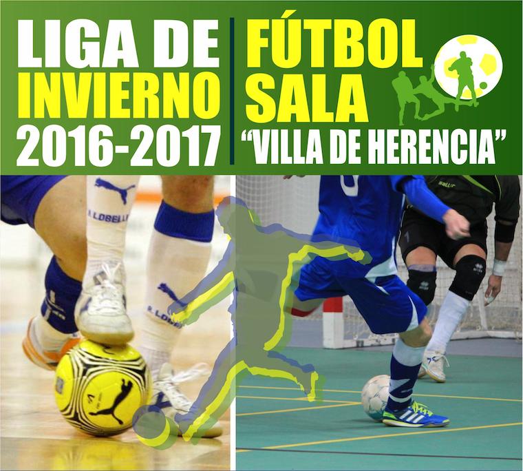 Inscripciones abiertas: Liga de Invierno 2016-2017 Fútbol Sala 1