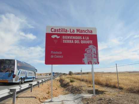 Nuevos carteles para dar la bienvenida a Castilla-La Mancha 3