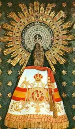 virgen del pilar 245x420 - Herencia celebró la festividad de la Guardia Civil