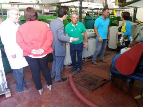 Visita a las instalaciones de la Cooperativa San José en Herencia 4