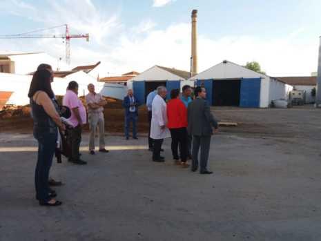 Visita a las instalaciones de la Cooperativa San José en Herencia 3
