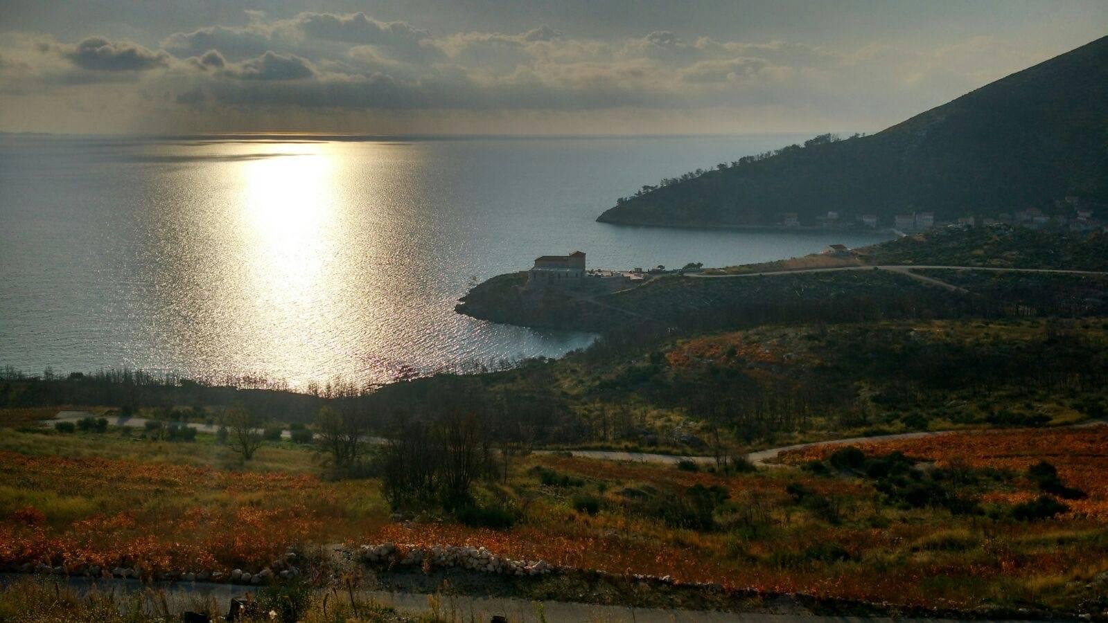 Perlé y su escudero camino de Dubrovnik.