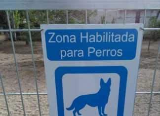 Zona habilitada para perros sueltos en Herencia