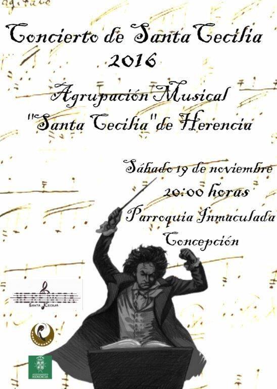 Concierto de Santa Cecilia en Herencia