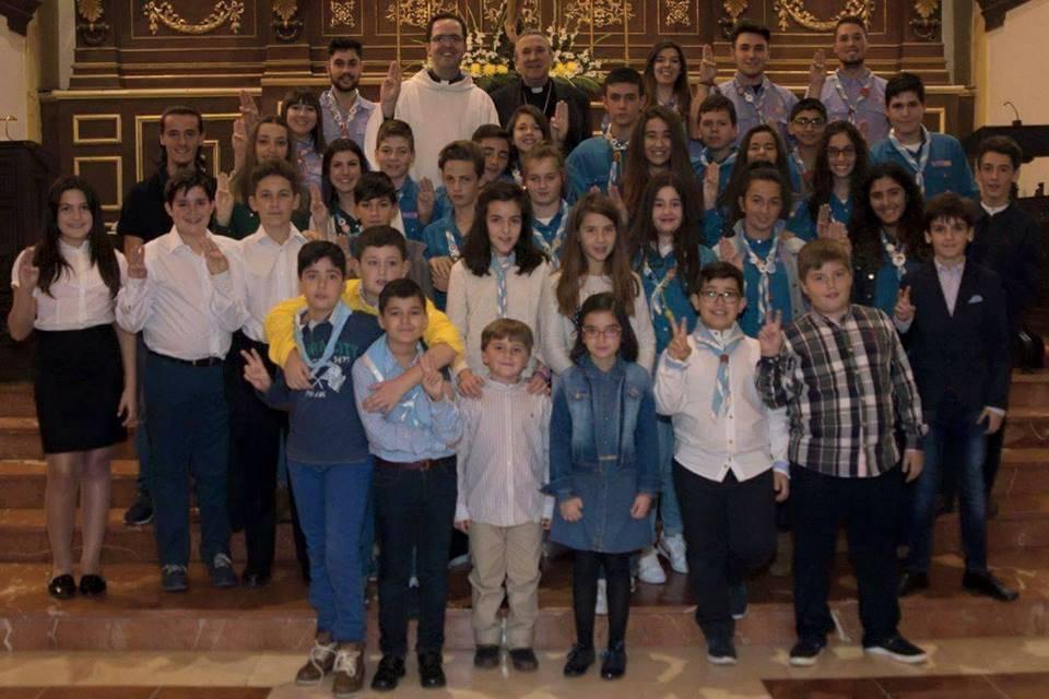 """Scout La Inmaculada de Herencia - Iniciada la Ronda 2016-2017 de los scouts católicos """"La Inmaculada"""""""