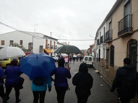 Celebrada la II Marcha Contra la Violencia de Género en Herencia 1