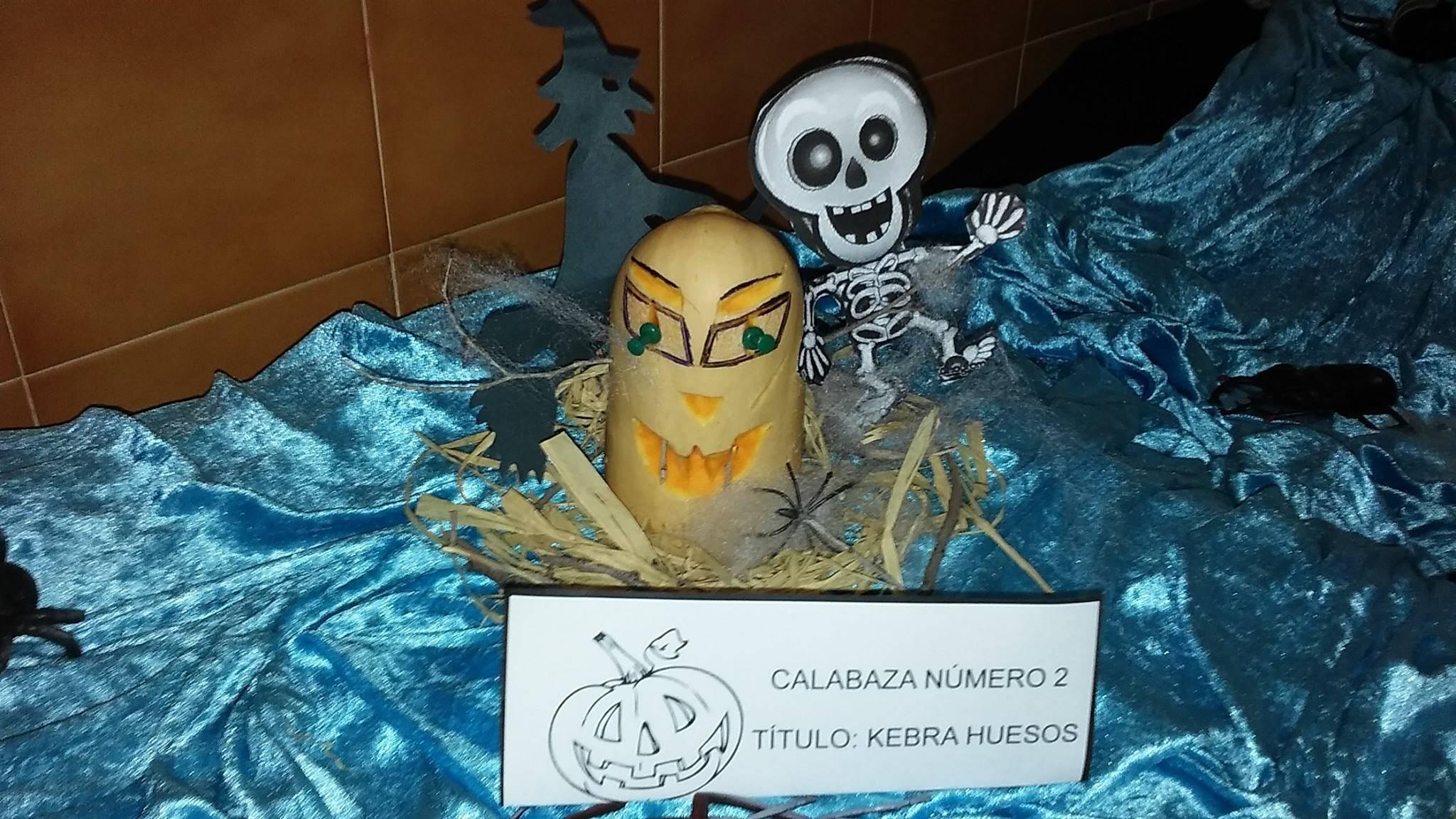 calabaza 2 - Ganadores del I Concurso de Decoración de Calabazas