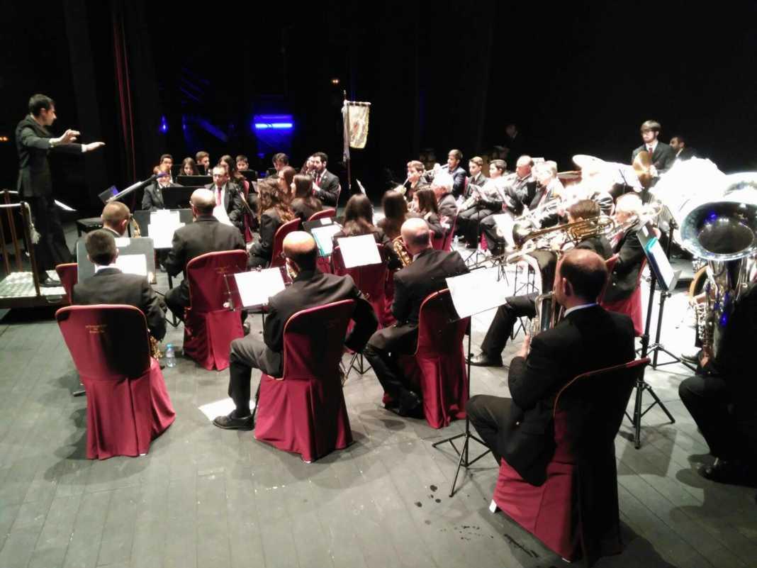 Una noche de música con el concierto de Bandas de Música en Herencia 1