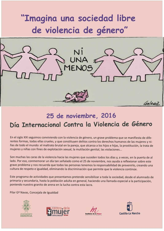 Día Internacional Contra la Violencia de Género 2016 1