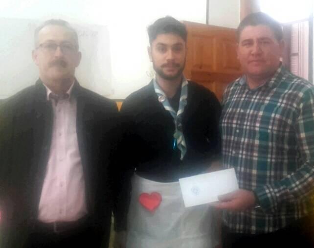 donativo de la hermandad de san jose a Afanion - La hermandad de san José colabora con Afanion