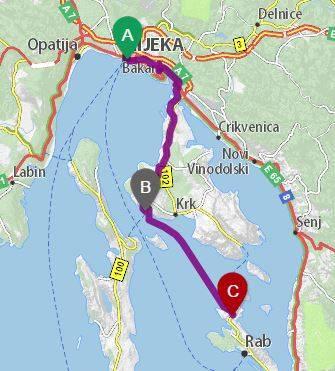 ferry - Elías Escribano llega al mar Adriático. Etapas 76-82 de Perlé por el Mundo