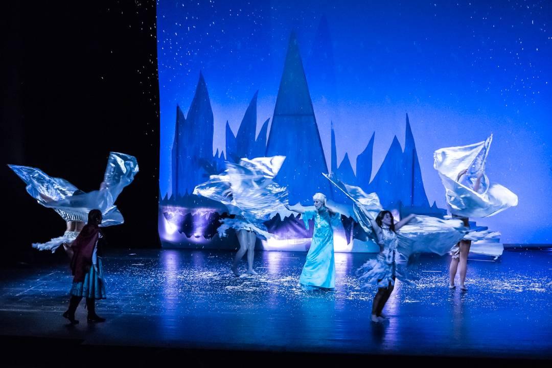 frozical en escena - Frozical, el reino helado de Frozen el 10 de diciembre en Herencia