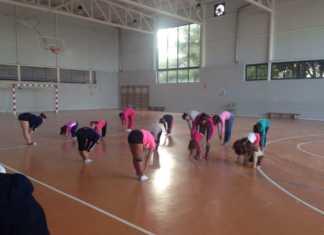 grupo de gimnasia rítimica del servicio municipal de deportes de Herencia