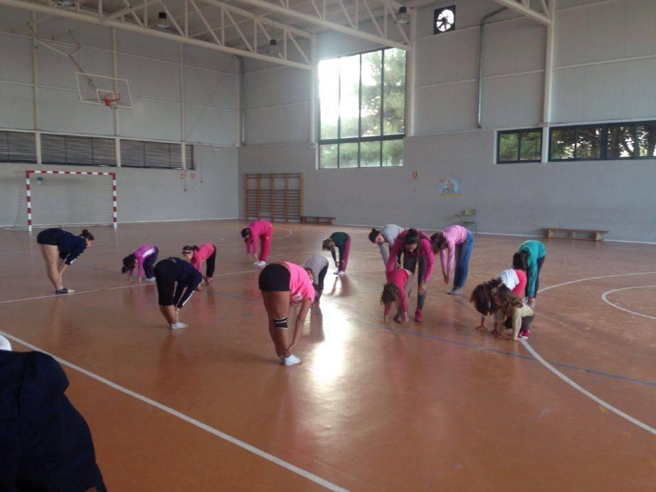 grupo de gimnasia deportiva del servicio municipal de deportes de Herencia - Las Escuelas Deportivas de Herencia alcanzan su récord de participación