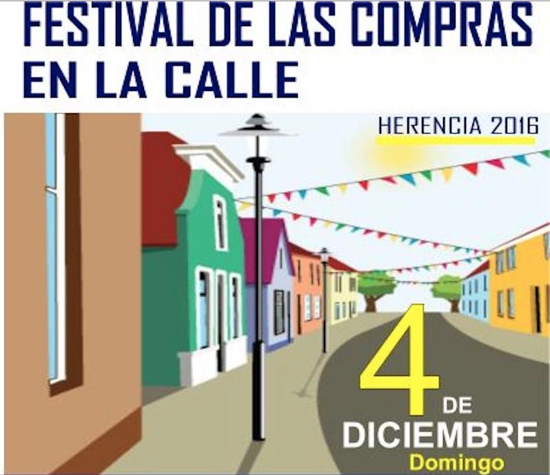 Festival de las compras en la calle en Herencia 1