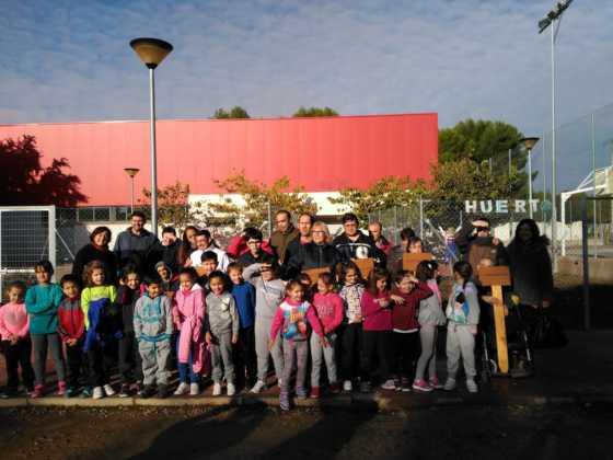 jornada convivencia colegio carrasco alcalde herencia 3 560x420 - Jornada de Convivencia, visita al Colegio Carrasco Alcalde